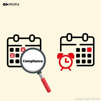 Compliance Calendar, Due Date Report