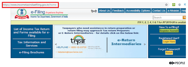 file ITR online